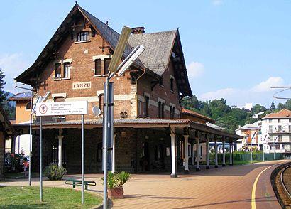 Come arrivare a stazione lanzo torinese a torino con treno for Piani chalet svizzero