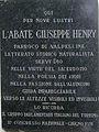 Lapide commemorativa Joseph Henry, Valpelline.JPG