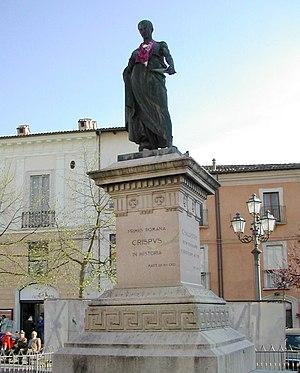 Sallust - Statue of Sallust in L'Aquila