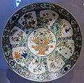 Large famille verte dish, China, Jingdezhen, Qing dynasty, Kangxi period, c. 1700-1720, porcelain, polychrome enamel - Montreal Museum of Fine Arts - Montreal, Canada - DSC09405.jpg