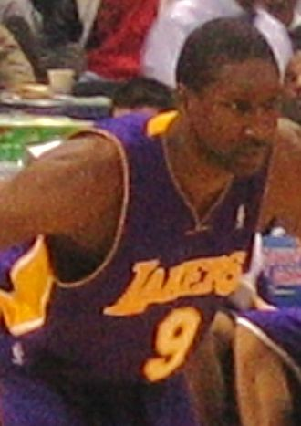 Laron Profit - Laron Profit with the Los Angeles Lakers in December 2005