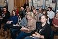 Latvijas Universitātes topošie žurnālisti viesojas Ministru kabinetā (7093054937).jpg