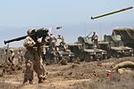 Launched FIM-92A Stinger missile.jpg