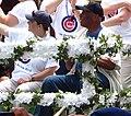 Laura Ricketts and Ernie Banks (4741788452).jpg