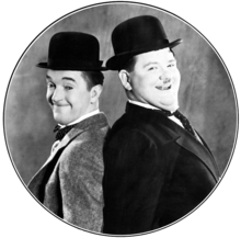 Stan Laurel and Oliver Hardy, Promotional Shot