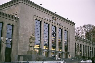 Prix de Lausanne - Théâtre de Beaulieu, where the final selection is usually held