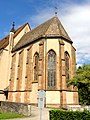 Lautenbach, Wallfahrtskirche Mariä Königin, Chorraum, Ansicht von Südosten 2.jpg