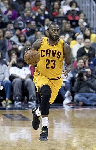 LeBron James - James with the Cavaliers in 2017