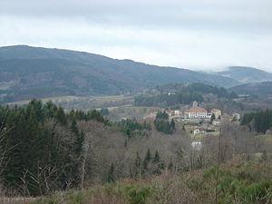 Livradois-Forez Regional Natural Park - View of Le Brugeron, Puy-de-Dôme