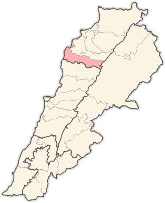 Batroun District - Image: Lebanon districts Batroun