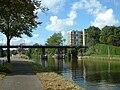 Leidschendam Hoge brug a railway bridge near Vronesteyn.JPG
