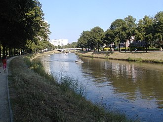 Lys (river) - The Leie in Ghent