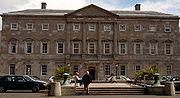 Leinster House, the seat of Oireachtas Éireann (the Irish parliament).