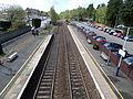 Lenzie railway station looking towards Croy.JPG