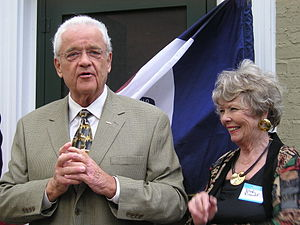 Leonard Boswell - Boswell and his wife Dody, 2006
