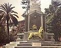 Leone di Giuda presso l'obelisco ai Caduti di Dogali a Roma.jpg