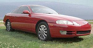 Lexus - Image: Lexus SC 400 1991