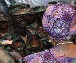 Liberia's president visits AFL's deploying troops (9155039582).jpg