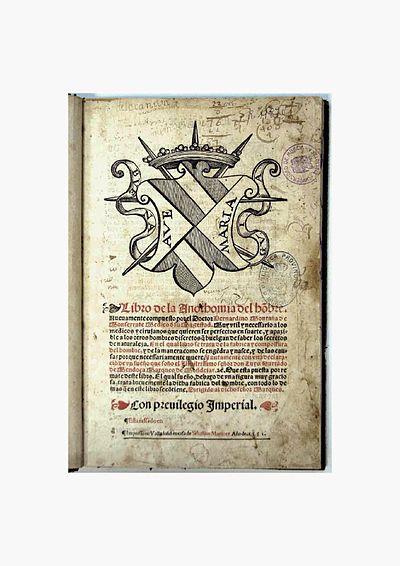 Libro de la anothomia del hombre - Wikipedia, la enciclopedia libre