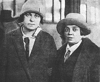 Olga Kameneva - Lidiia Seifullina and Olga Kameneva 1927