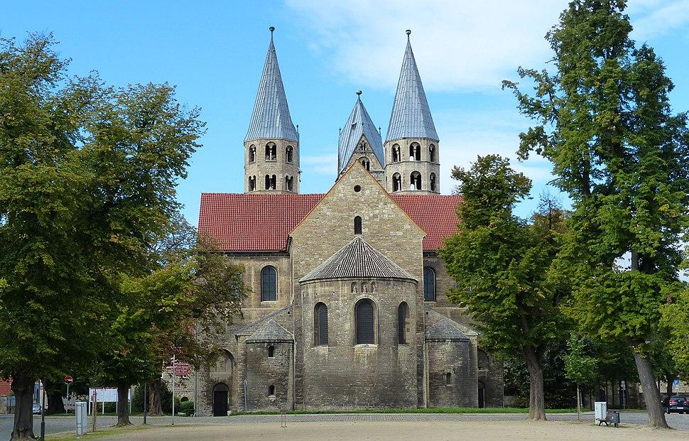 Liebfrauenkirche in Halberstadt, Sachsen-Anhalt