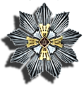 Liettuan Gediminasin ritarikunnan suurristin rintatähti.png