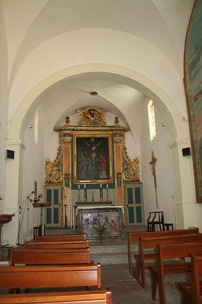 Lieuran-Cabrières (Hérault) - nef de l'église Saint-Martin