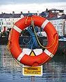 Lifebuoy, Bangor - geograph.org.uk - 1706445.jpg