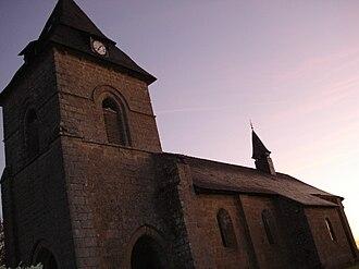 Liginiac - Image: Liginiac église