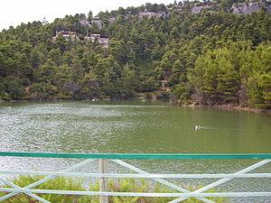 Parnitha - Beletsi Lake on the east slopes of Parnitha