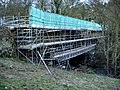 Lindley Bridge under repair - geograph.org.uk - 723372.jpg