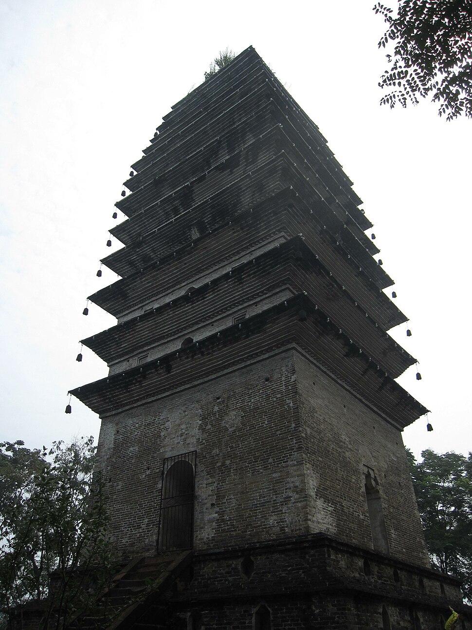 Lingbao Pagoda1