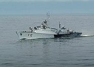 Lithuanian frigate LNS Aukstaitis (F 12)