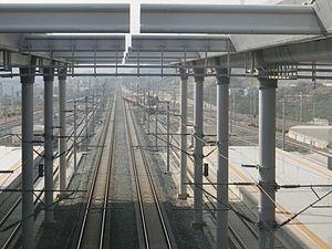Liuzhou–Nanning intercity railway - Image: Liunan nanningdong 2