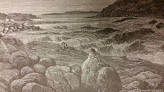 Livingstone Falls - Livingstone Falls as seen by Stanley.