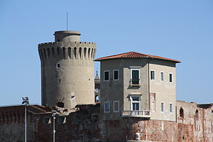 Livorno Fortezza Vecchia bastione della Canaviglia 02 @chesi