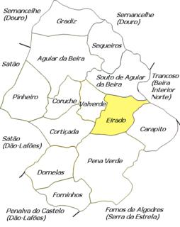 Eirado Civil parish in Centro, Portugal