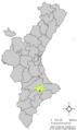 Localització de Benilloba respecte el País Valencià.png