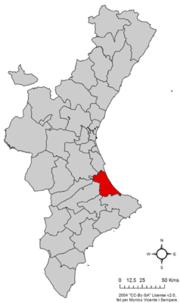 Localització de la Safor respecte del País Valencià.png