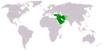 Asie de l'Ouest.
