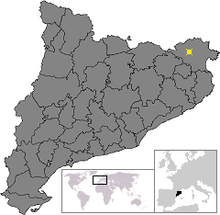 Location of Boadella i les Escaules.png