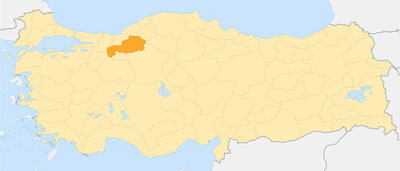 Locator map-Bolu Province.png