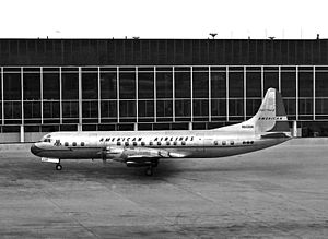 Galaxy Airlines Flight 203 - The aircraft involved in the crash while still in operation with American Airlines as N6130A