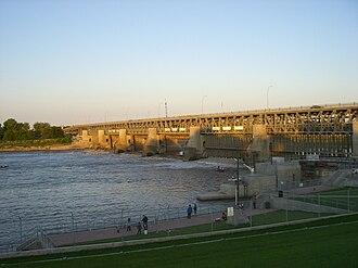 Lockport, Manitoba - Lockport Dam (north side)