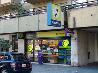 Communications in Argentina - Those without residential access to a PC can avail themselves of Locutorios, the computer/postal service centers ubiquitous in Argentina.