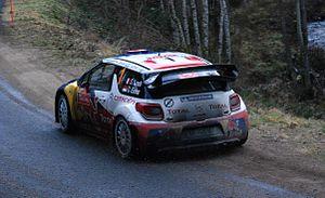 2012 Monte Carlo Rally - Sébastien Loeb during Rally