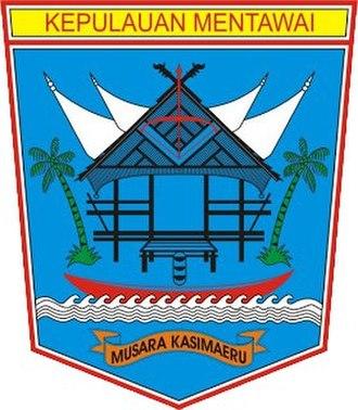 Mentawai Islands Regency - Image: Logo Mentawai