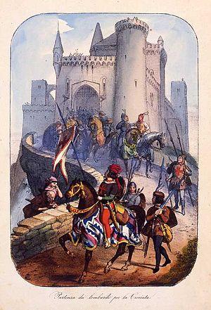 """I Lombardi alla prima crociata - """"The departure of the Lombards for the Crusade"""""""