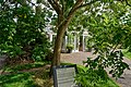 London - Kew Gardens - Secluded Garden 1995 by Anthea Gibson - View NE.jpg