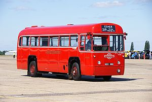 London Transport bus RF503 (MXX 480), 2010 North Weald bus rally (2).jpg